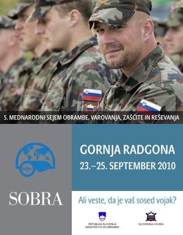 GORNJA RADGONA - Slovenska vojska