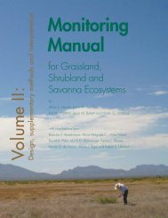 Monitoring Manual - Natural Resources Conservation Service