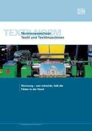 Imagebroschüre Textilnorm (759.3 KB) - DIN Deutsches Institut für ...