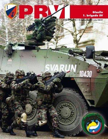Leto VIII/01 - Slovenska vojska