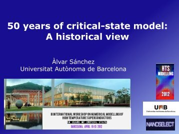 50 years of critical-state model: A historical view