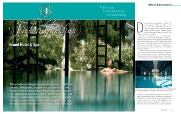 Victoria-Jungfrau Grand Hotel & Spa - Beautiful Life - das Magazin ...