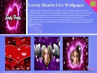 Lovely Hearts Live Wallpaper - Getmg.com