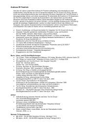 Andreas W Friedrich - Institut Integrales Tai Ji Quan & Qi Gong ...