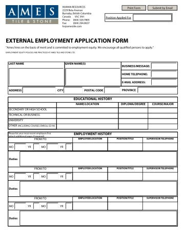 External employment application form life healthcare external employment application form ames tile stone thecheapjerseys