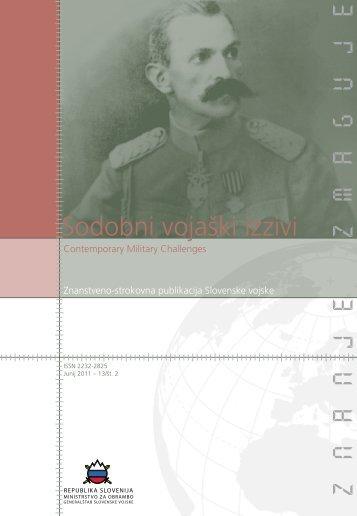 Letnik 13/2, junij 2011 - Slovenska vojska