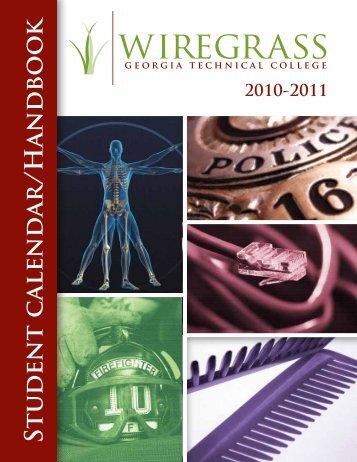 2010-2011 Student Handbook - Wiregrass Georgia Technical College