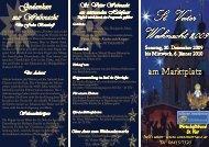 St. Veiter Weihnacht 2009 St. Veiter Weihnacht 2009