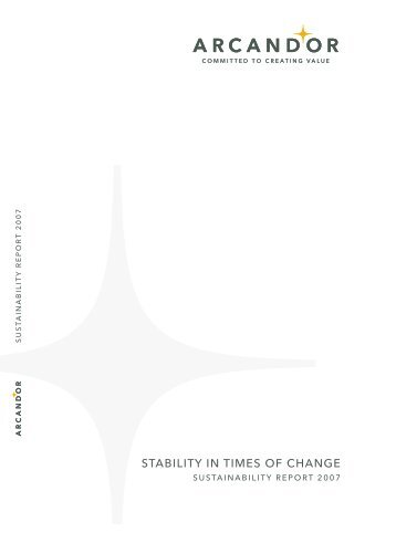STABILITY IN TIMES OF CHANGE