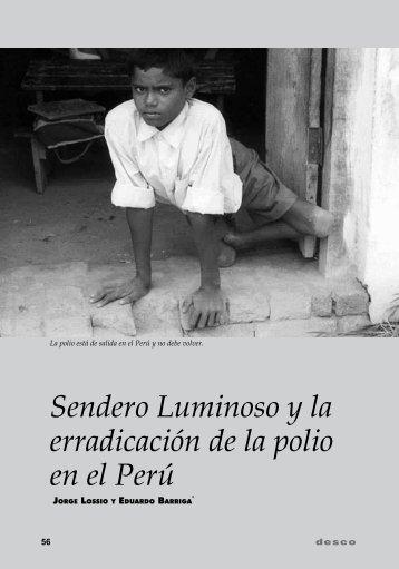 Sendero Luminoso y la erradicación de la polio en el Perú - Desco