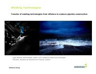 Transfer of welding technologies from offshore to ... - IPLOCA.com