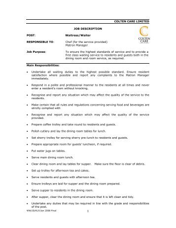 Laundry Assistant | Resume CV Cover Letter