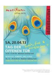 Steinway Saal - Musikum Salzburg