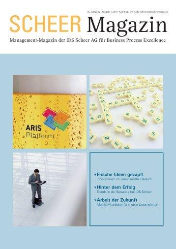 Management-Magazin der IDS Scheer AG für Business Process ...