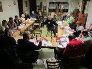 800 Jahre Niedersaubach - Festkomitee in Homes im Januar 2012