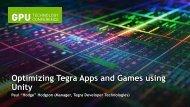 Optimizing Tegra Apps and Games using Unity - NVIDIA Developer ...