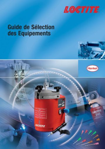 Guide de Sélection des Equipements - Henkel