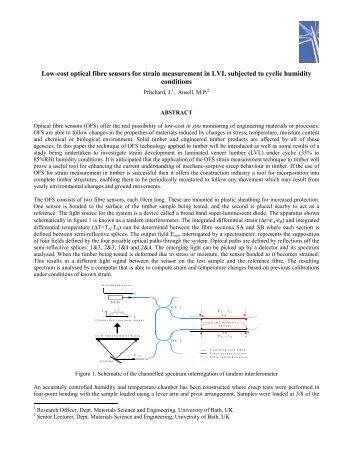 Low-cost optical fibre sensors for strain measurement in LVL ...
