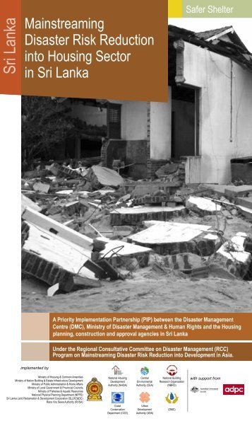 Mainstreaming Disaster Risk Reduction into Housing Sector in ...
