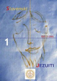 SJ 245.qxd - Jezuiti v Sloveniji