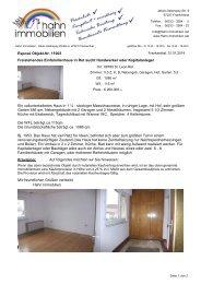 Freistehendes Einfamilienhaus in Rot sucht ... - Hahn-Immobilien