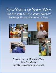 New York's 30 Years War: - New York State Senate