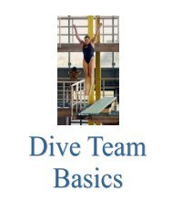 Diving Handbook - Suburban Aquatic League