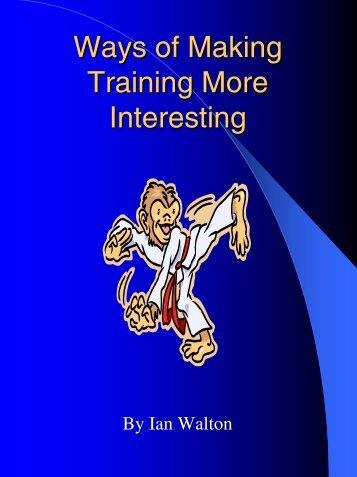 Ways To Make Training More Fun