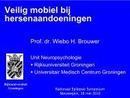 Veilig mobiel bij hersenaandoeningen - Nederlandse Liga tegen ...