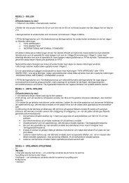 REGEL 2 – BOLLEN 17 Officiella beslut (ny text) 1 Filtboll är inte ...