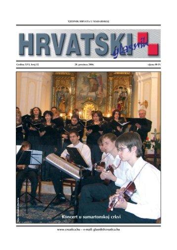 52. broj 28. prosinca - Croatica Kht.