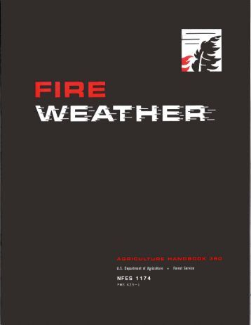 Fire Weather Handbook - NWCC