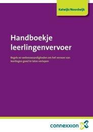 Handboekje leerlingenvervoer - Gemeente Katwijk