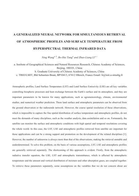 A Generalized Neural Network For Simultaneous Retrieval Of