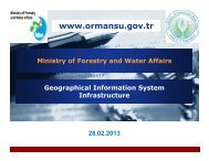 Geographic Information System Infrastructure - Ministry of ... - UNGIWG