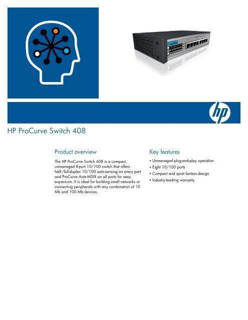 HP ProCurve Switch 408 - Winncom Technologies