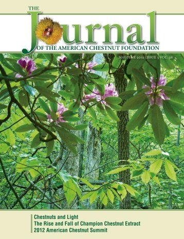 mAY/June 2012 - The American Chestnut Foundation
