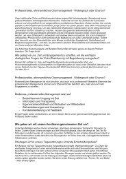 Professionelles, ehrenamtliches Chormanagement - Kreis ...