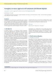 Asenapina - Journal of Psychopathology