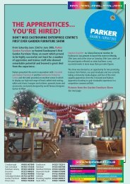 THE APPRENTICES... YOU'RE HIRED! - Parker Building Supplies