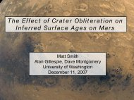 The Effect of Crater Obliteration on Inferred Surface Ages on Mars