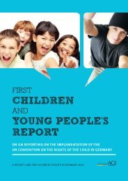 Children Young PeoPle's rePort - Office of the High Commissioner ...