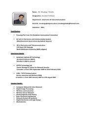 Name: _Mr. Mrudang Shukla Designation: Assistant Professor ... - SIT