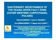 outer western carpathians, poland - GISLab =- Laboratorium GIS