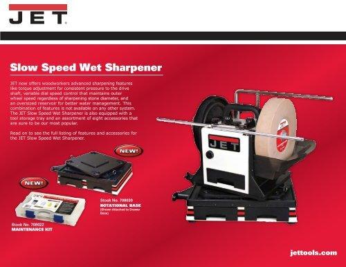 jet slow speed wet sharpener manual