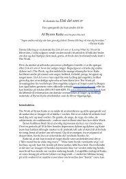 Den Lille Bog - The Work of Byron Katie