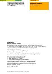 Anmeldung für Minderjährige - Orthopaedie-technik.ch
