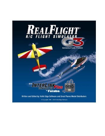 RealFlight G3 Manual - Great Planes Software Support