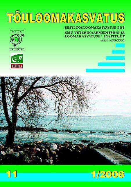 Eesti loomakasvatus 2007. aastal - Tõuloomakasvatus