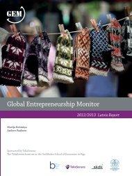 Global Entrepreneurship Monitor | 2011 Latvia Report - BICEPS